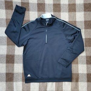Adidas Climalite Black Half Zip